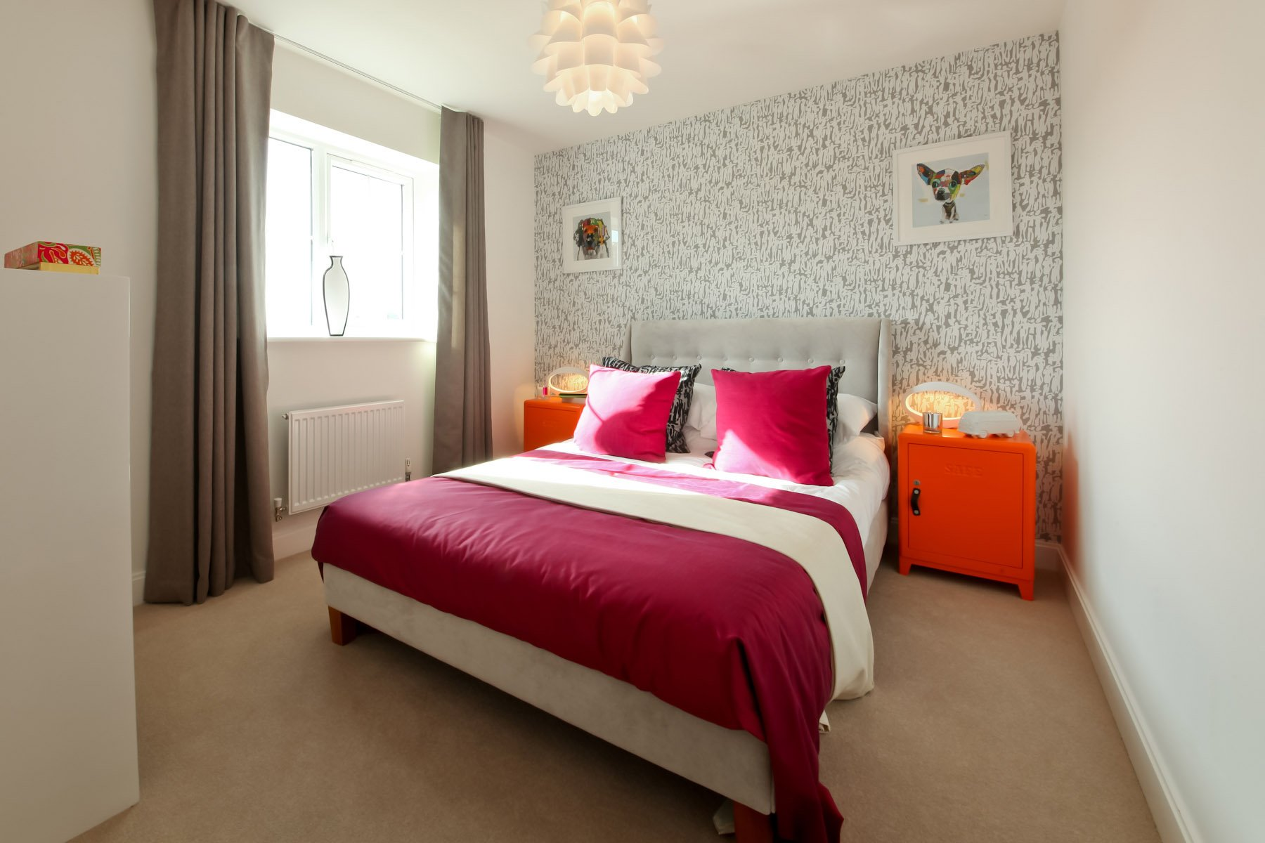 Taylor Wimpey - Typical bedroom 2